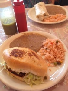 El Padrino taquería found a new location in the PG, but you can still have a wonderful lunch like this one in the OG El Padrino on West Jefferson in OC.