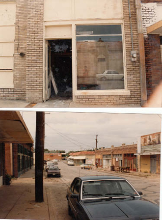Views of and from what is now Eno's restaurant