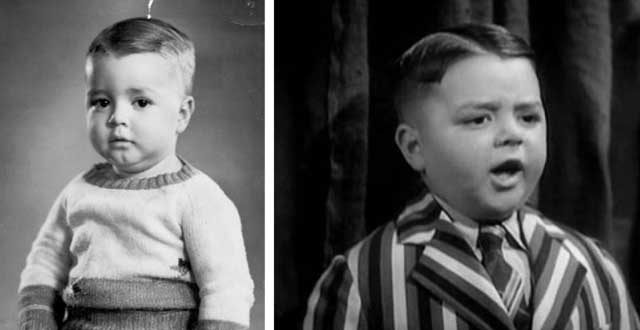 "George Robert Phillips ""Spanky"" McFarland, photo courtesy of Amanda McFarland Hall; Spanky in the ""Little Rascals"""