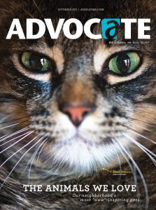 Monkey, the cat, graced the cover of last year's pet issue.