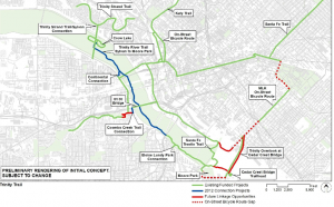 A map of the alignment proposed back in August 2012
