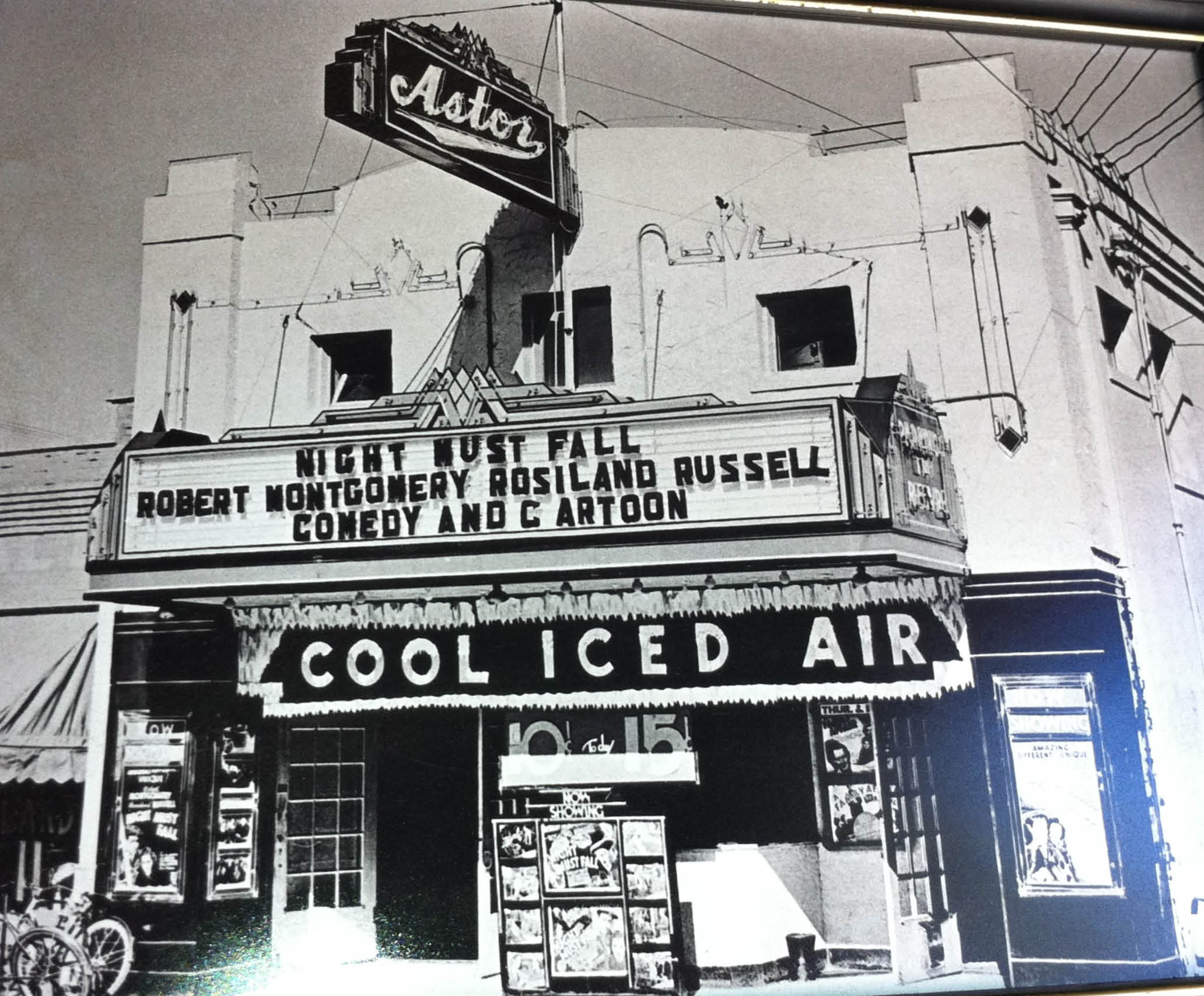 Martin Weiss was an arts patron, and he paid for the Rialto Theater at 412 N. Bishop out of his own pocket. It later was renamed Astor: Courtesy of Bob Johnston.