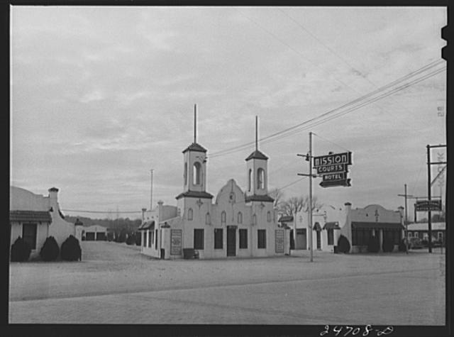 The Mission Motel, 1944, via Library of Congress