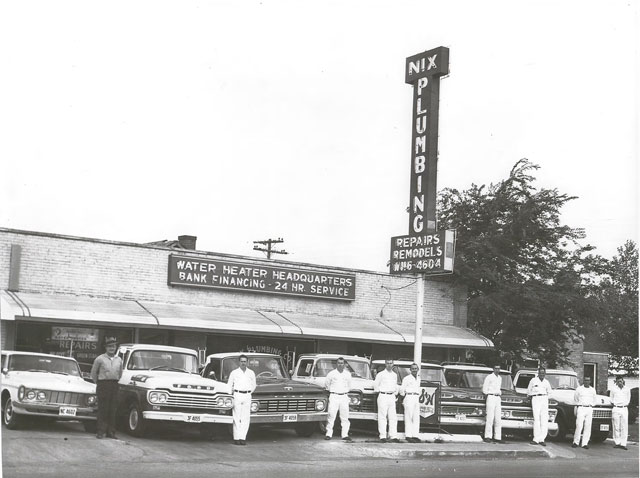 Nix Plumbing operated at 2107 S. Beckley,  one of several Oak Cliff locations. Photos courtesy of Bob Nix