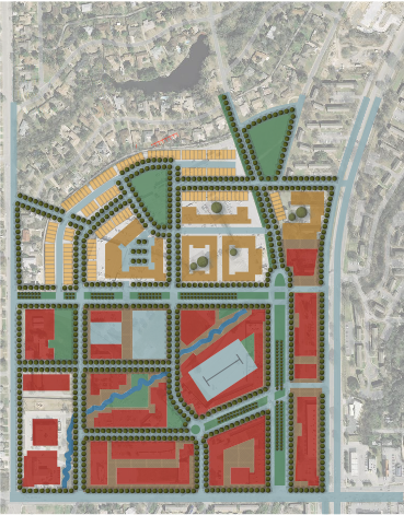 One proposal calls for total reconstruction of Wynnewood Village shopping center.