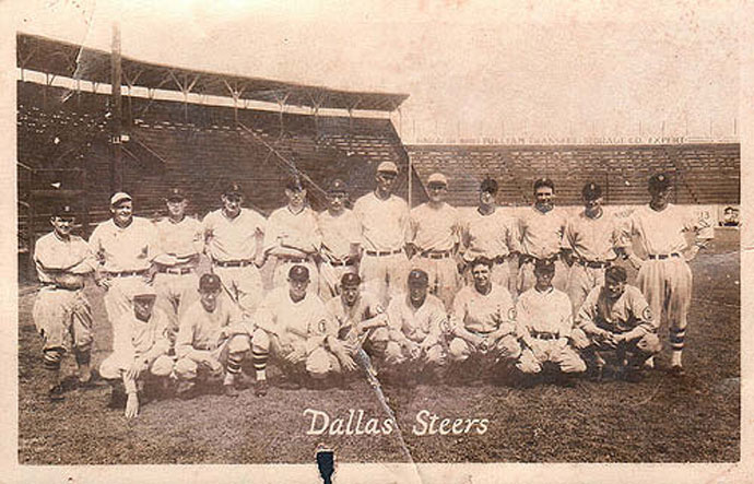 The Texas League team in Dallas went by several names over the years, including the Submarines, the Steers, the Eagles, the Rebels and the Rangers.