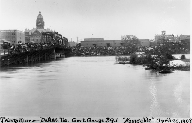 1908-Flood-Downtown-Dallas