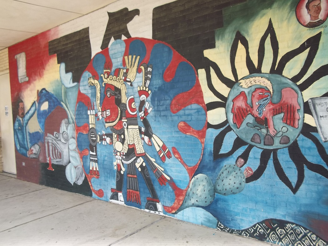 North Oak Cliff Library mural