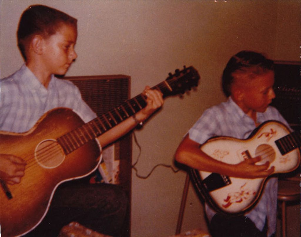 The Vaughan brothers as children: Photo courtesy of Martha Vaughan