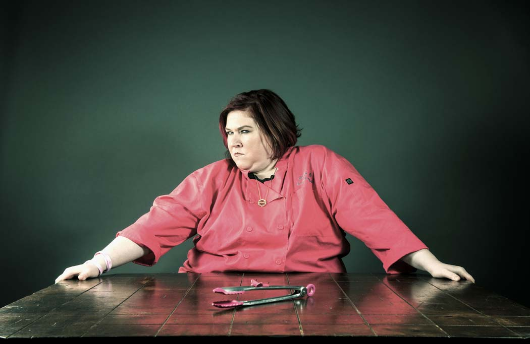 """Chef Blythe Beck was featured on """"Naughty Kitchen,"""" a reality TV show, and then went on to open a restaurant in Oak Cliff. Photo by Danny Fulgencio"""