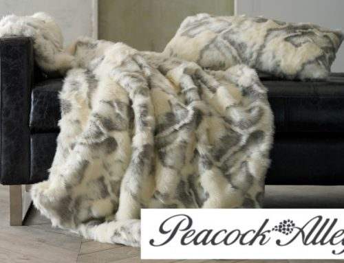 Peacock Alley: Beautiful Faux Fur Throw for Your Home