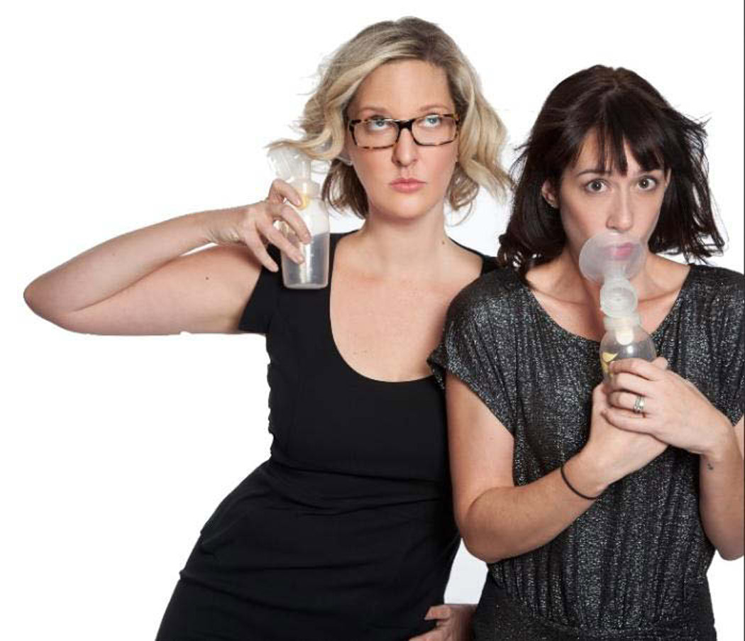 Denver-based comedian/musician Shayna Ferm and her sidekick, MC Doula (a.k.a. Tracey Tee).