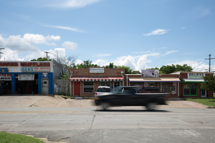 The growing commercial district in Elmwood caters towards a quieter and more intimate section of Oak Cliff. (Photo by Rasy Ran)