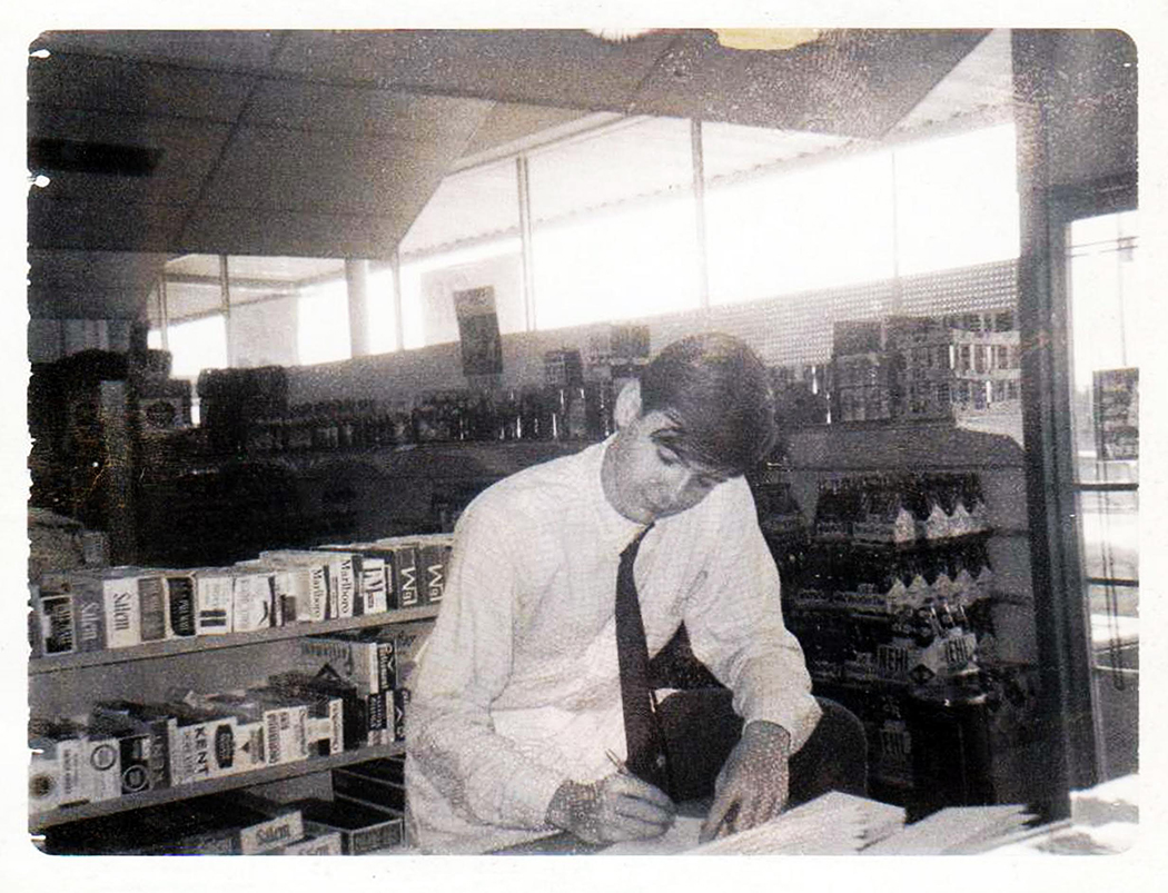 Life-long Oak Cliff resident John Stolly worked at the Foodbasket grocery store on Fort Worth Avenue. (Photo courtesy of John Stolly)