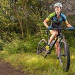 Mountain biker Nicole Cronkite (Photo by Danny Fulgencio)