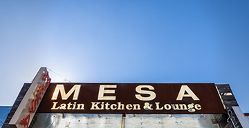 Mesa is an immigrant-owned business on Jefferson that answers the American middle class craving for upscale dining. (Photo by Danny Fulgencio)