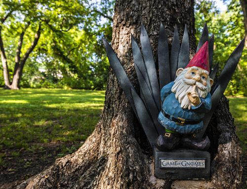 Gnome news: Girl Scouts creative-writing project upset