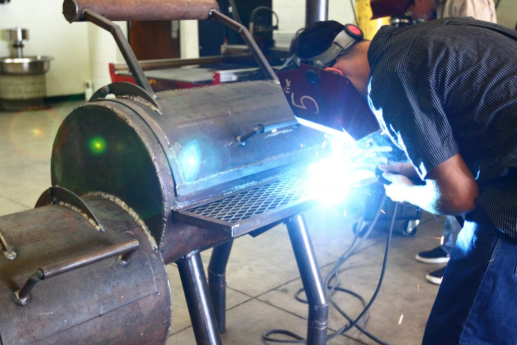 Dallas ISD students can learning real-world skills with Career and Technical Education. (Photo from DISD)