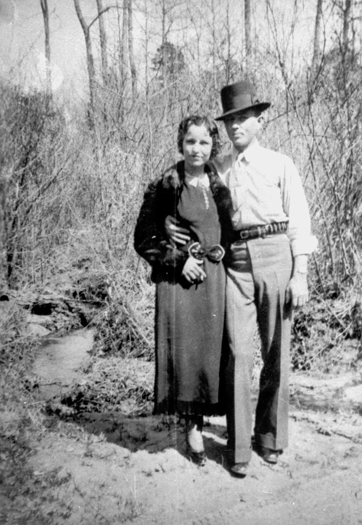 Bonnie Parker and Clyde Barrow grew up in West Dallas and became world-famous outlaws. (photo courtesy of the dallas history and archives division, dallas public library)