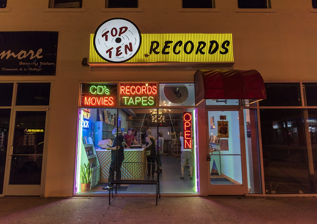 Exterior Top Ten Records