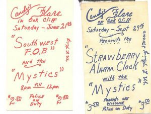 Flyers from Candy's Flare