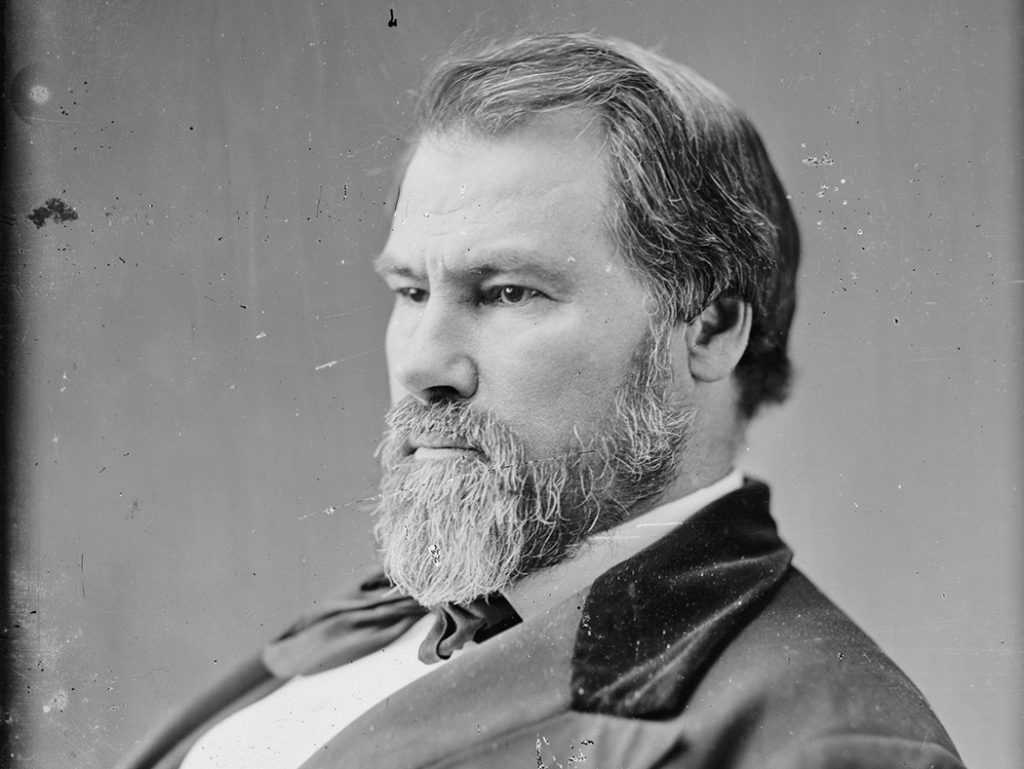 John H. Reagan circa 1860 (Photo courtesy of the Library of Congress)