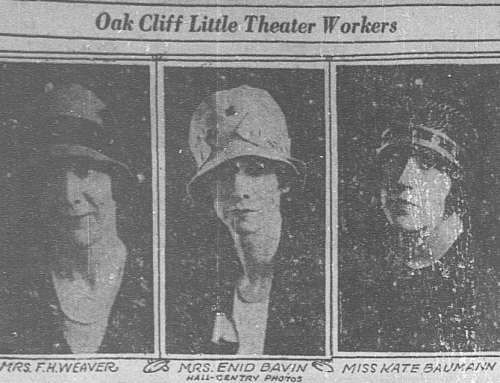 Welcome to the '20s, Oak Cliff