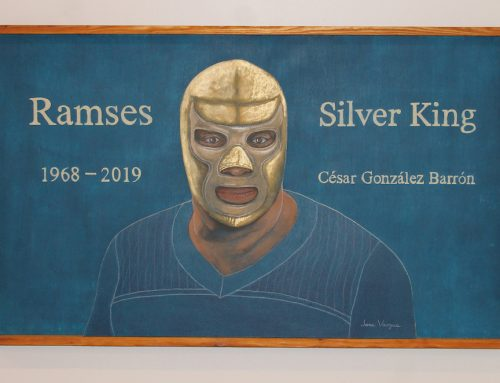 Go see this Lucha Libre exhibit at the Oak Cliff Cultural Center