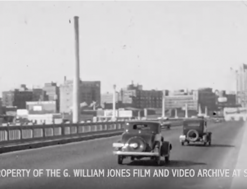 Watch: 7 seconds of the Houston Street Viaduct in 1933