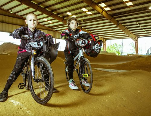 9-year-old BMX racers' world championship hopes shredded