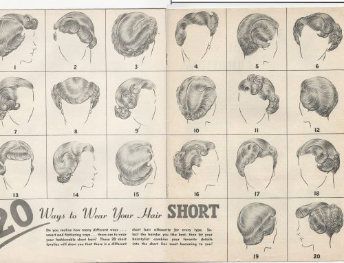 Back story: A 1949 textbook on hair, skin and nails