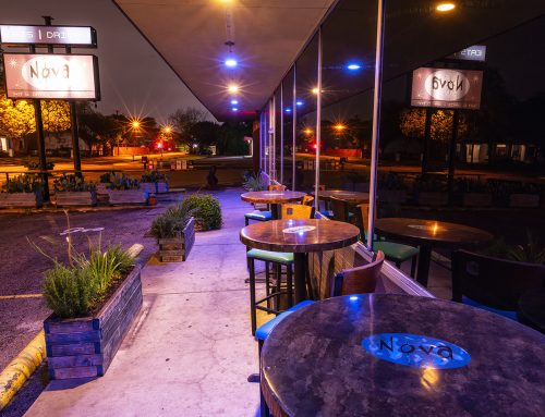 Nova is back in business with limited seating and takeout