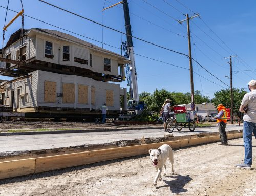Historic preservation: 115-year-old house moves a mile down the road