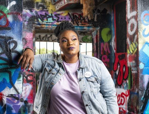 How Brittany White went from lockup to live TV