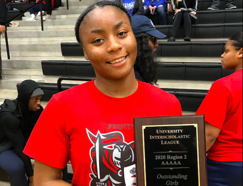 Meet Destiny Miles, the first two-time wrestling state champ in DISD history