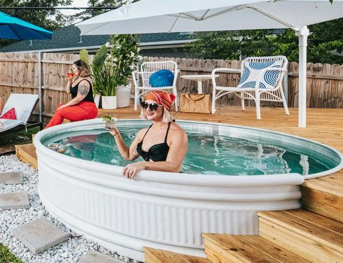This do-it-yourself pool extravagaza makes summer bearable