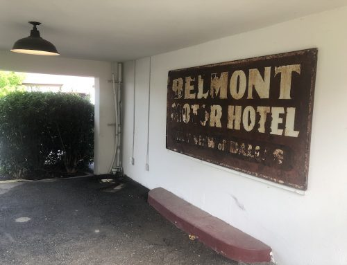 The Belmont Hotel is closed for renovations