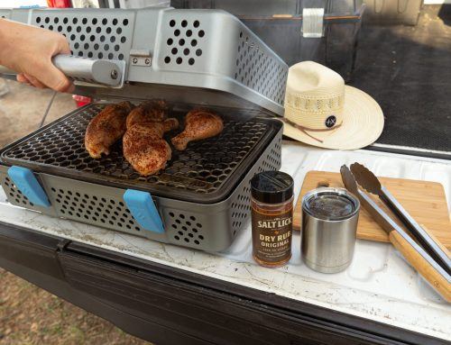 These Dallas entrepreneurs invented a portable grill