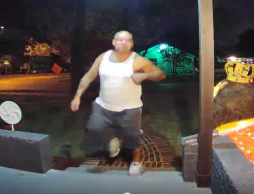 Watch: Thief steals porch furniture